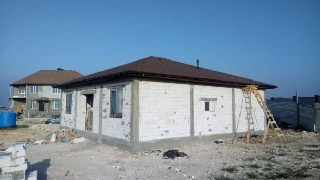 строительство дома севастополь фото