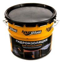 Мастика битумная AquaMast фундамент (3кг)