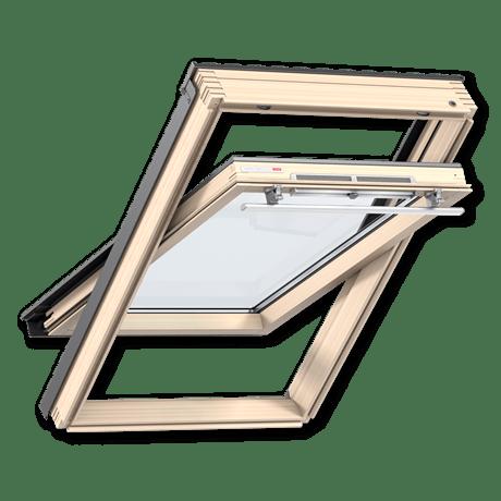 мансардное окно велюкс ручка сверху