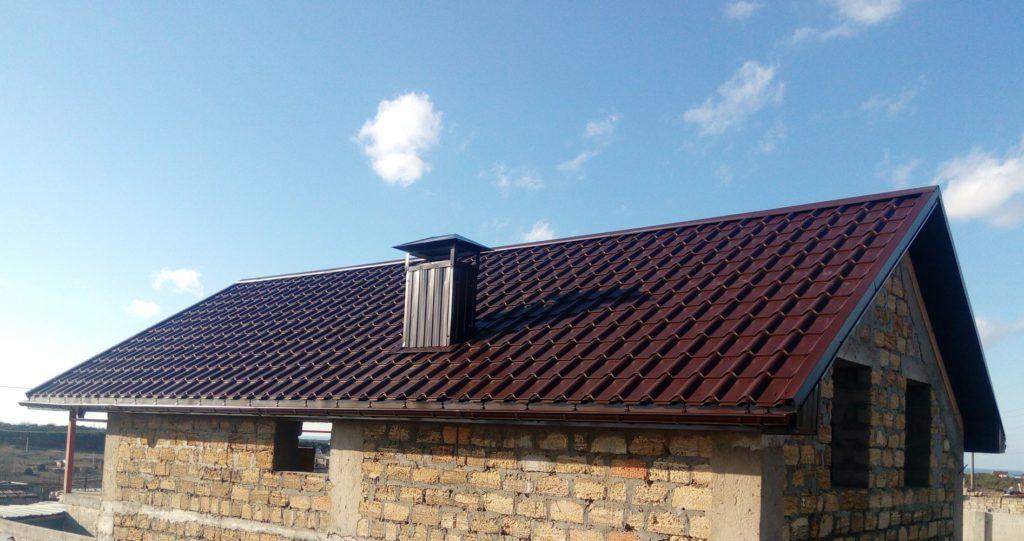 двускатная крыша севастополь фото