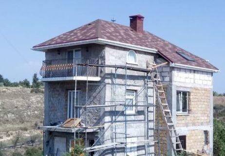 ремонт крыши коттеджа
